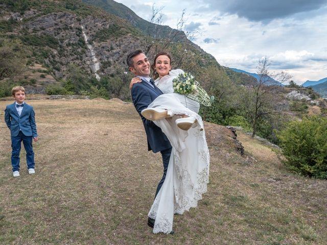 le nozze di Vanessa e Ivan
