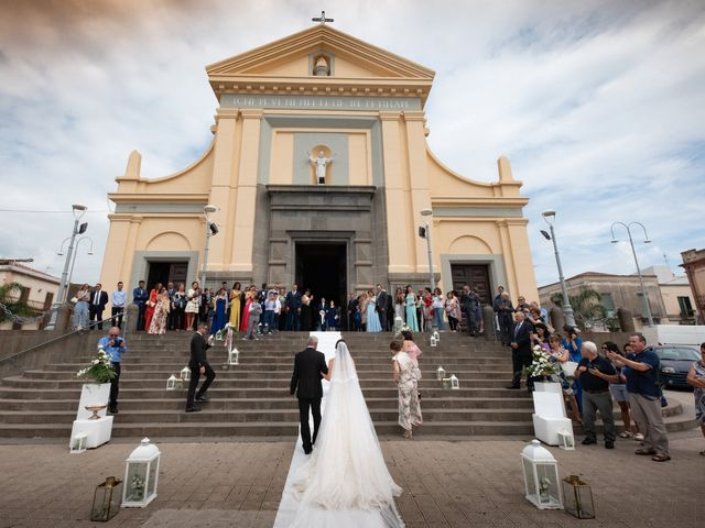 Il matrimonio di Isabella e Angelo a Mascali, Catania 64