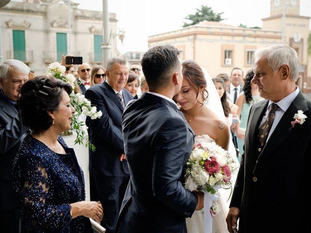 Il matrimonio di Isabella e Angelo a Mascali, Catania 70