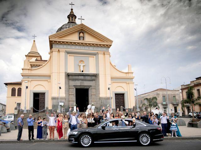 Il matrimonio di Isabella e Angelo a Mascali, Catania 71