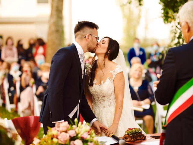 Il matrimonio di Lisa e Giacomo a Annone Veneto, Venezia 36