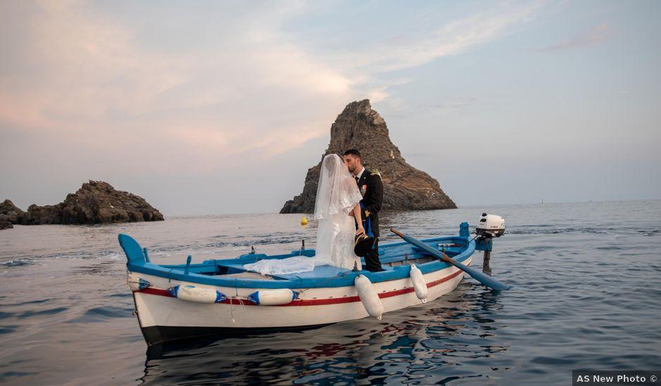 Il matrimonio di Marco e Veronika a Valverde, Catania