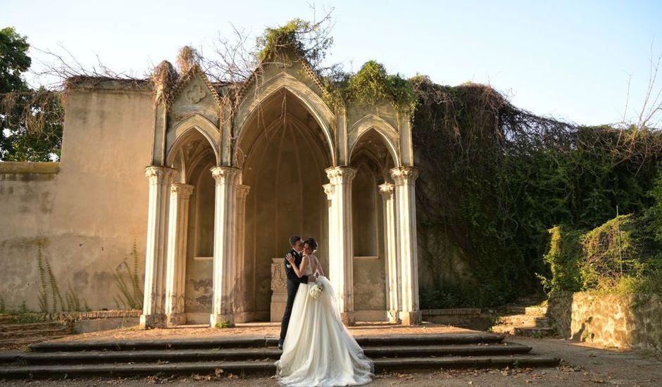 Il matrimonio di Massimo e Carlotta a Roma, Roma