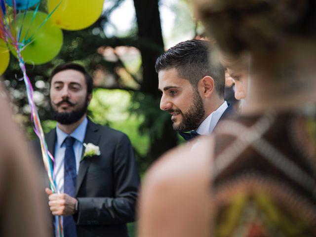 Il matrimonio di Andrea e Daniela a Moscazzano, Cremona 13