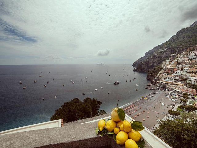 Il matrimonio di Nicholas e Danielle a Positano, Salerno 3
