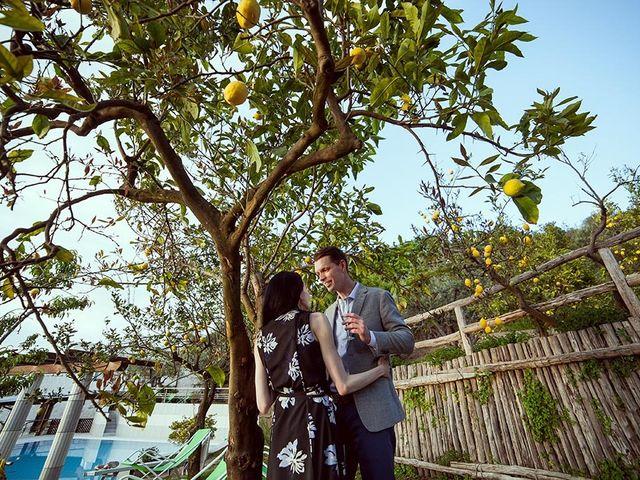 Il matrimonio di Nicholas e Danielle a Positano, Salerno 6