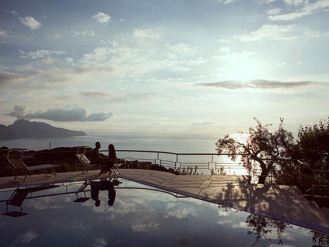 Il matrimonio di Nicholas e Danielle a Positano, Salerno 11