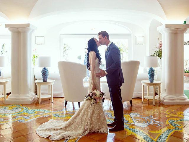 Il matrimonio di Nicholas e Danielle a Positano, Salerno 26