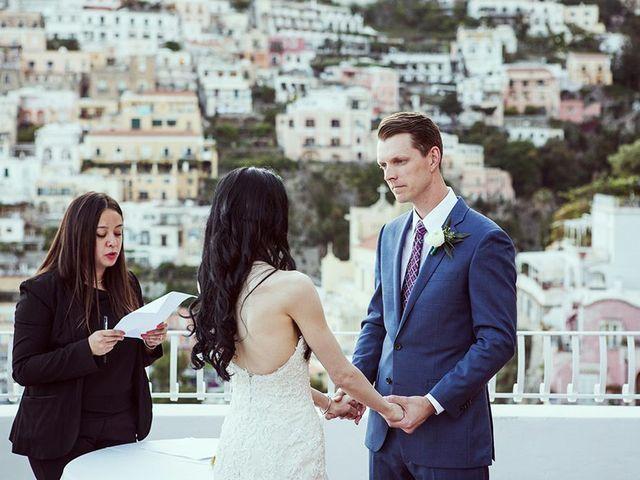 Il matrimonio di Nicholas e Danielle a Positano, Salerno 28