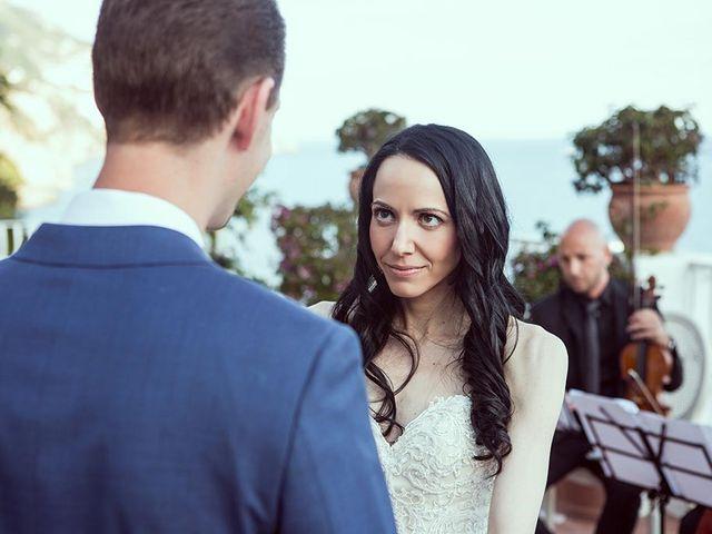 Il matrimonio di Nicholas e Danielle a Positano, Salerno 29