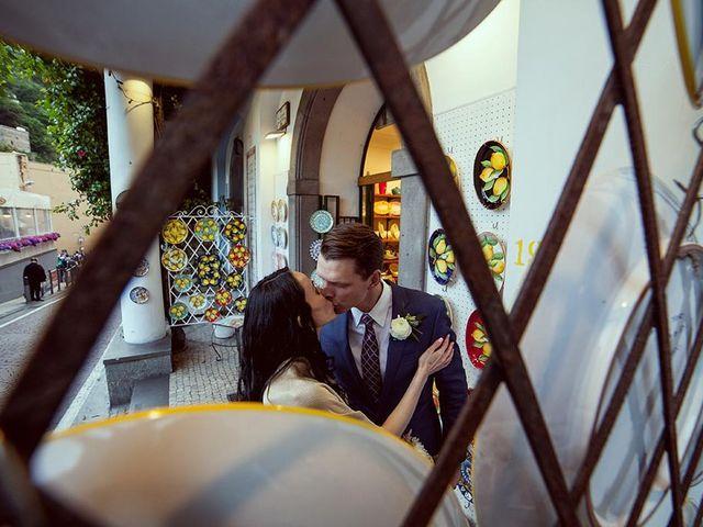 Il matrimonio di Nicholas e Danielle a Positano, Salerno 34