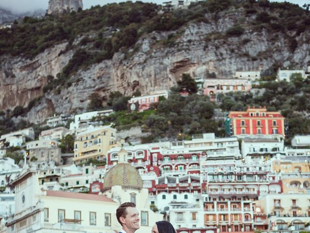 Il matrimonio di Nicholas e Danielle a Positano, Salerno 37