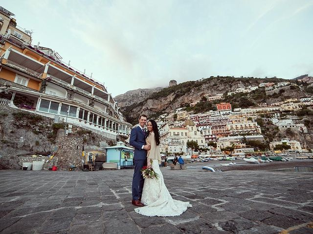 Il matrimonio di Nicholas e Danielle a Positano, Salerno 38
