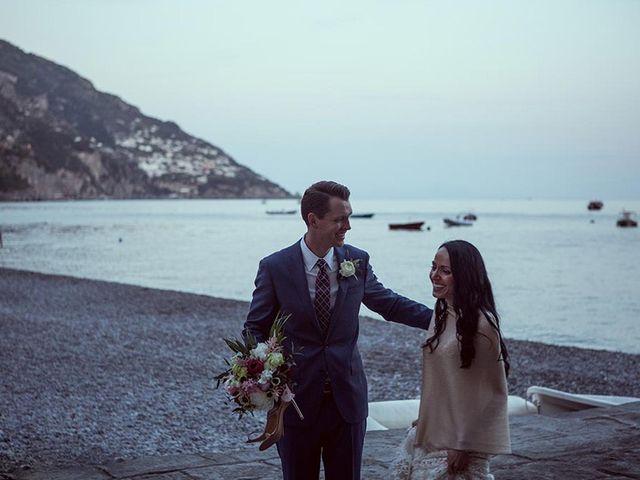 Il matrimonio di Nicholas e Danielle a Positano, Salerno 40