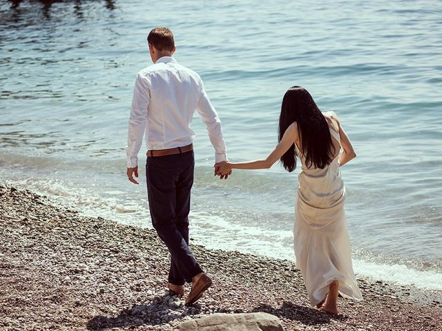 Il matrimonio di Nicholas e Danielle a Positano, Salerno 53