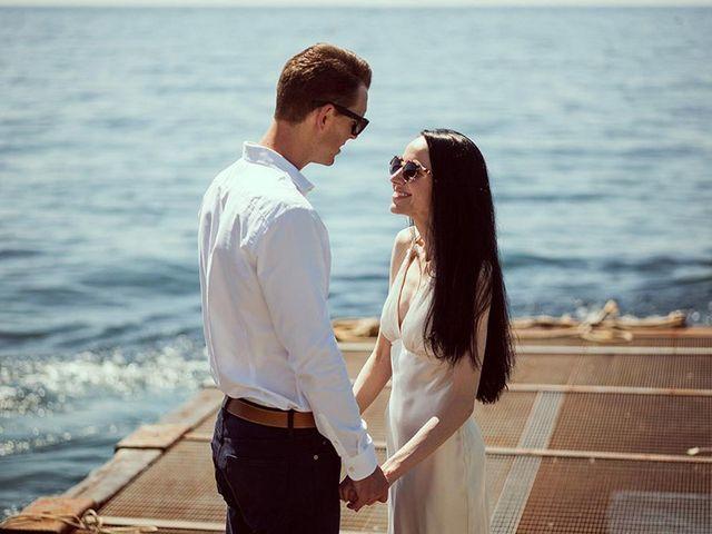 Il matrimonio di Nicholas e Danielle a Positano, Salerno 54