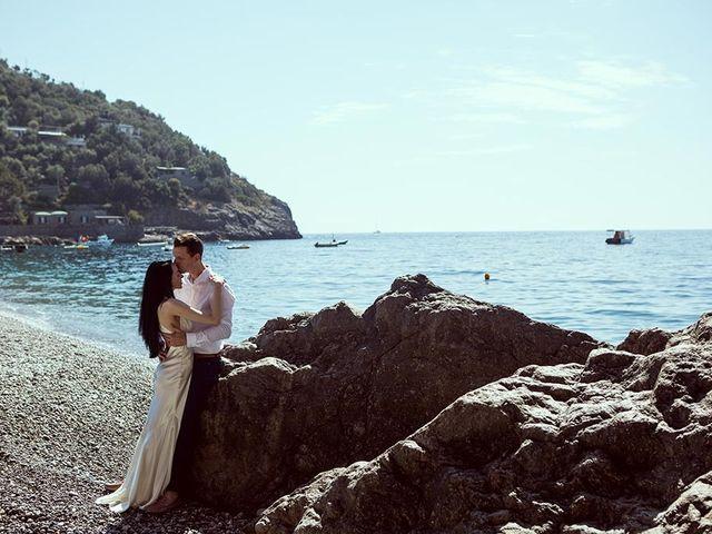 Il matrimonio di Nicholas e Danielle a Positano, Salerno 56
