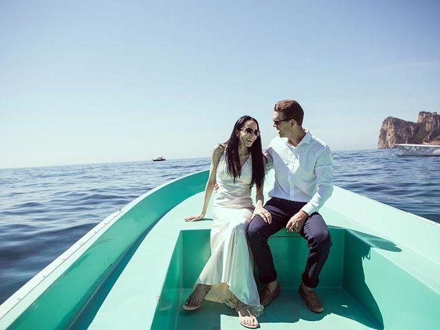 Il matrimonio di Nicholas e Danielle a Positano, Salerno 61
