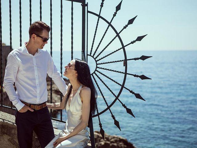 Il matrimonio di Nicholas e Danielle a Positano, Salerno 69