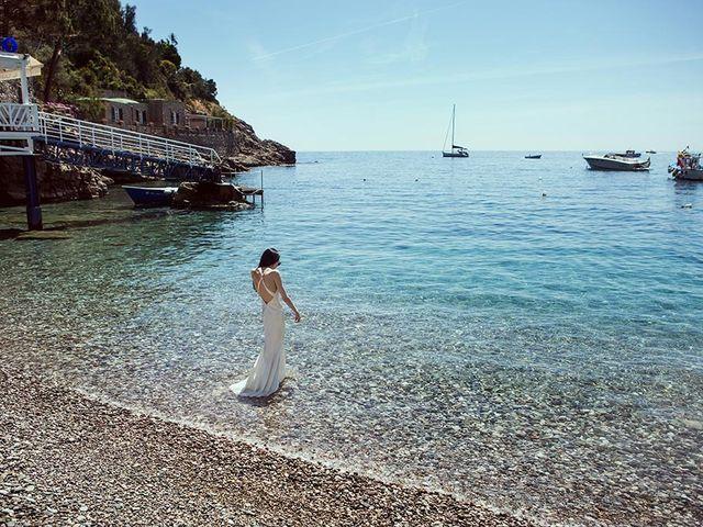 Il matrimonio di Nicholas e Danielle a Positano, Salerno 75