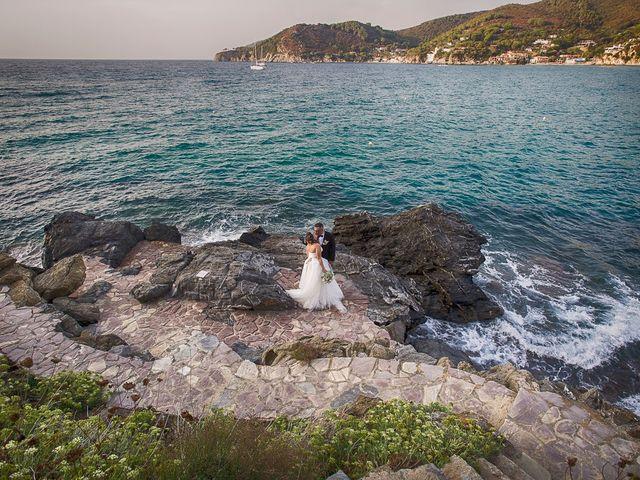 Il matrimonio di Stefano e Erika a Portoferraio, Livorno 22