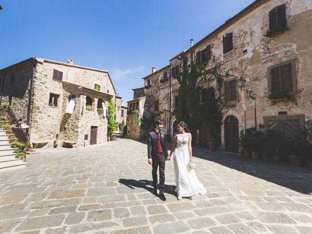 Il matrimonio di Alessio e Silvia a Manciano, Grosseto 55