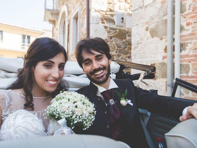 Il matrimonio di Alessio e Silvia a Manciano, Grosseto 56