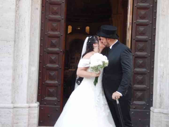 le nozze di Giorgio e Lidia