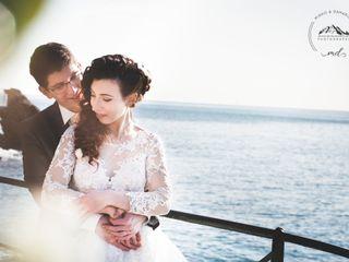 Le nozze di Vanessa e Theo