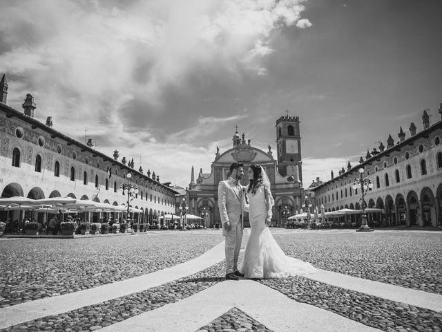 Il matrimonio di Giuseppe e Martina a Vigevano, Pavia 102