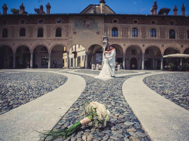 Il matrimonio di Giuseppe e Martina a Vigevano, Pavia 103
