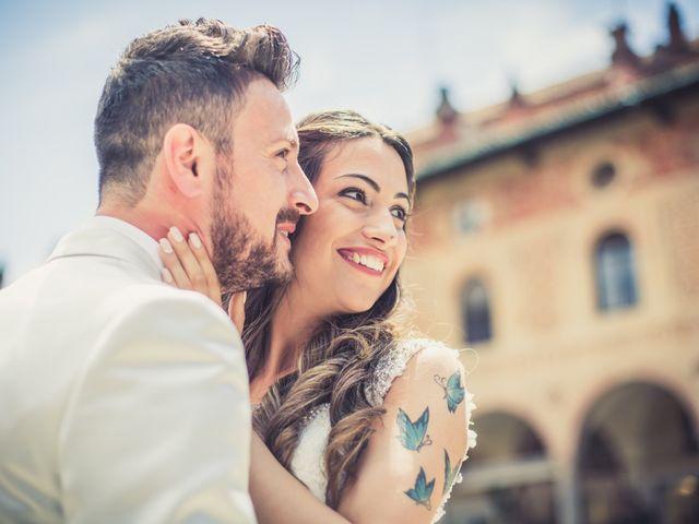 Il matrimonio di Giuseppe e Martina a Vigevano, Pavia 107