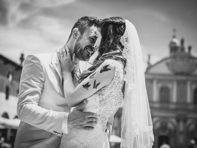 Il matrimonio di Giuseppe e Martina a Vigevano, Pavia 108