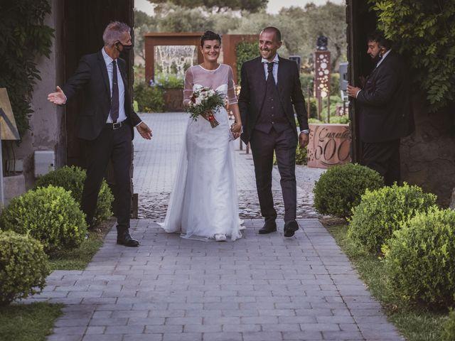 Il matrimonio di Matteo e Imma a Pomezia, Roma 99