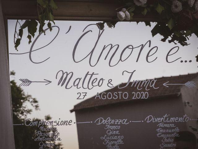 Il matrimonio di Matteo e Imma a Pomezia, Roma 101