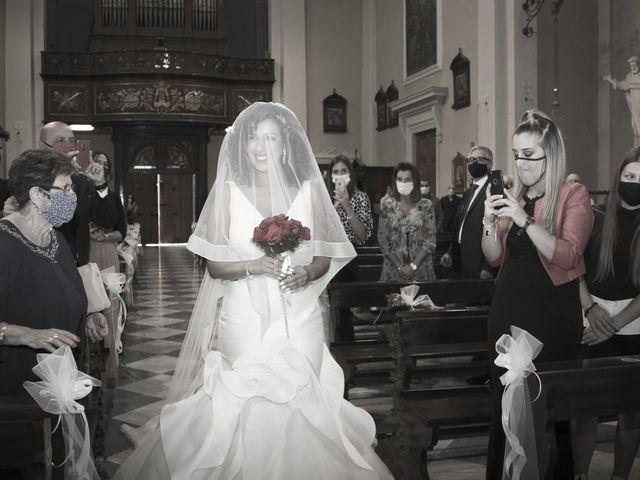 Il matrimonio di Tatiane e Luca a Zimella, Verona 10