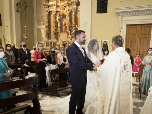 Il matrimonio di Tatiane e Luca a Zimella, Verona 11