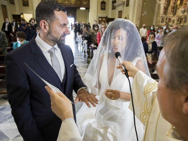 Il matrimonio di Tatiane e Luca a Zimella, Verona 15