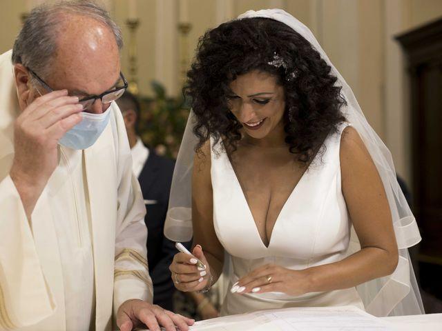 Il matrimonio di Tatiane e Luca a Zimella, Verona 17
