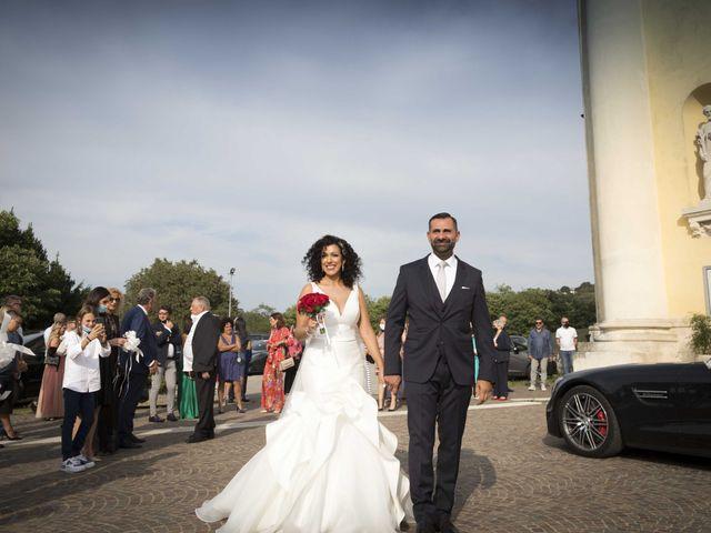 Il matrimonio di Tatiane e Luca a Zimella, Verona 23