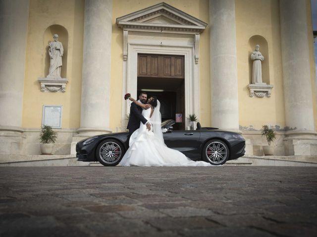 Il matrimonio di Tatiane e Luca a Zimella, Verona 24