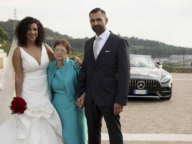 Il matrimonio di Tatiane e Luca a Zimella, Verona 25