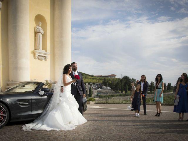 Il matrimonio di Tatiane e Luca a Zimella, Verona 26