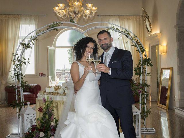 Il matrimonio di Tatiane e Luca a Zimella, Verona 33