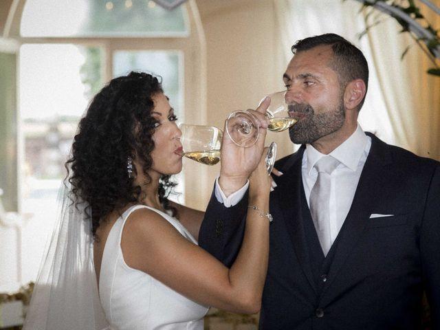 Il matrimonio di Tatiane e Luca a Zimella, Verona 34