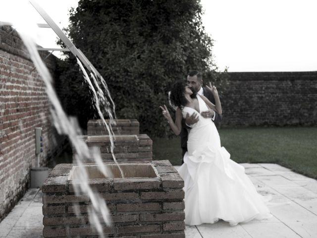 Il matrimonio di Tatiane e Luca a Zimella, Verona 44