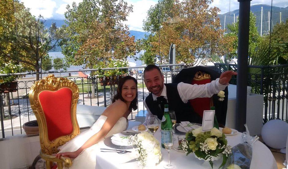 Il matrimonio di Martin e Martina a Luino, Varese