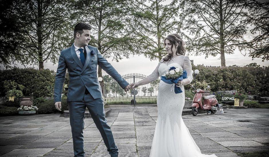 Il matrimonio di Antonino e valentina a Casarile, Milano
