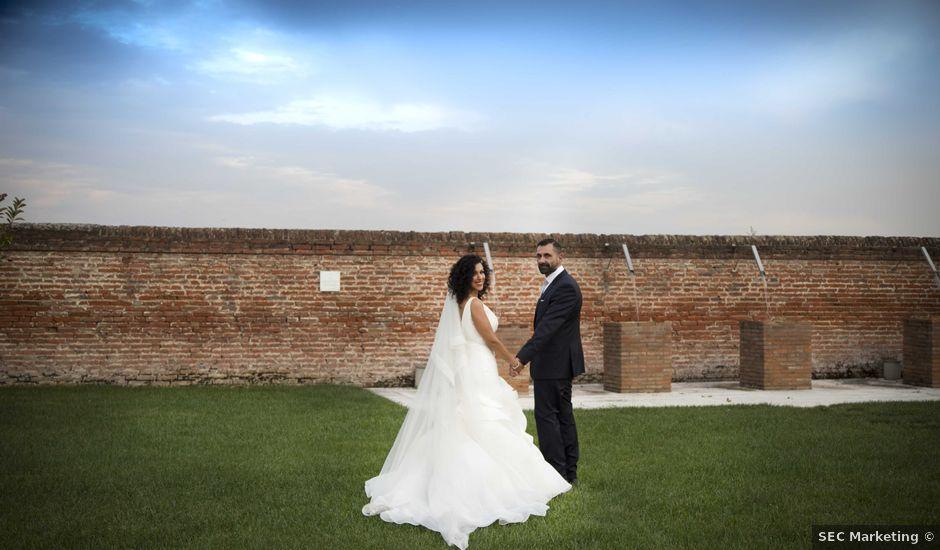 Il matrimonio di Tatiane e Luca a Zimella, Verona