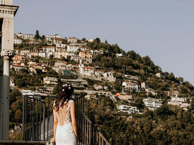 Il matrimonio di Matteo e Silvia a Cernobbio, Como 25